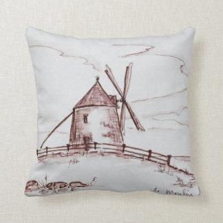 Le Moulin de Moidrey Windmill | Pontorson Cushion