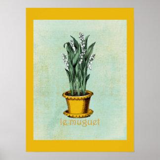 Le Muguet Poster