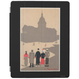 Le Pantheon Art Deco SceneParis, France iPad Cover