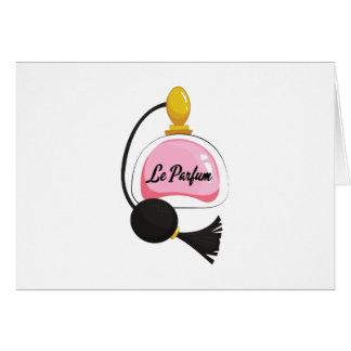Le Parfum Greeting Card