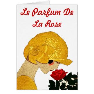 Le Parfum De La Rose Greeting Card