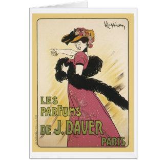 Le Parfums De J. Daver Card