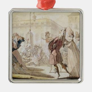 Le Petit Coblentz Silver-Colored Square Decoration