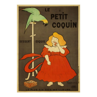 Le Petit Coquin by Cappiello Vintage Advertisement Posters