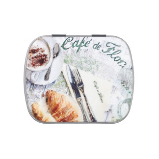 Le Petit Dejeuner Jelly Belly Candy Tins