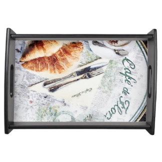 Le Petit Dejeuner Serving Platters