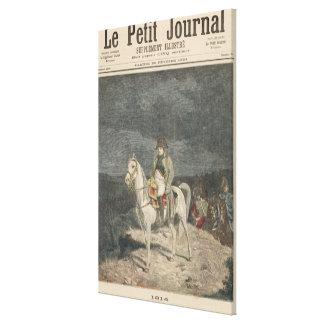 Le Petit Journal Canvas Print