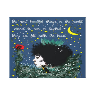 Le petit prince Premium Wrapped Canvas (Gloss) Stretched Canvas Prints