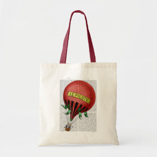 Le Pilote Hot Air Balloon 2 Budget Tote Bag
