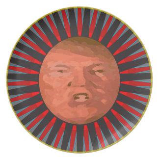 Le Plat D John Trump Party Plates