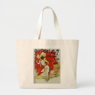 Le Plus Grand Succes 1898 by Alfred Choubrac Jumbo Tote Bag