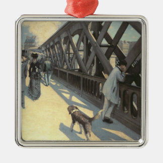 Le Pont de L'Europe, 1876 Christmas Ornament