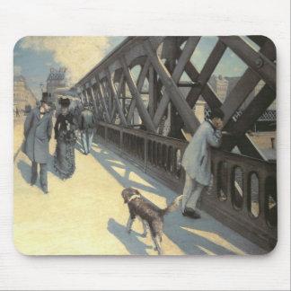 Le Pont de L'Europe, 1876 Mouse Mat
