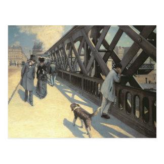Le Pont de L'Europe, 1876 Postcard