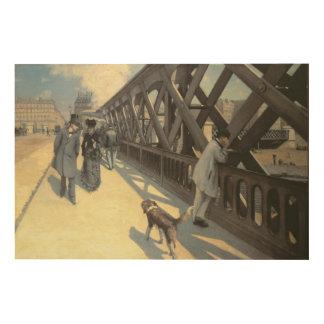 Le Pont de L'Europe, 1876 Wood Prints