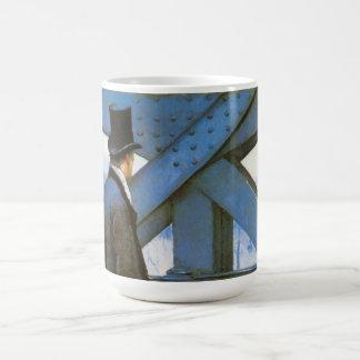 Le Pont de l'Europe by Caillebotte, Vintage Art Mug