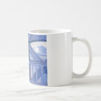 Le Pont de l'Europe by Gustave Caillebotte Coffee Mug