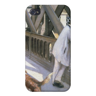 Le Pont de L'Europe: detail of a resting man and a iPhone 4/4S Covers