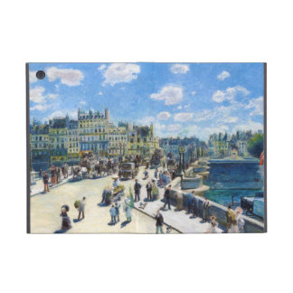 Le Pont-Neuf, Paris Pierre Auguste Renoir painting Cover For iPad Mini