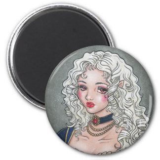 Le Portrait De La Vampiresse Gothic Magnet