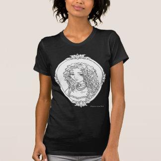 Le Portrait De La Vampiresse Sketch Gothic Shirt