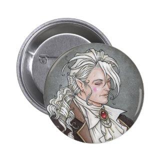 Le Portrait Du Vampire Gothic Button
