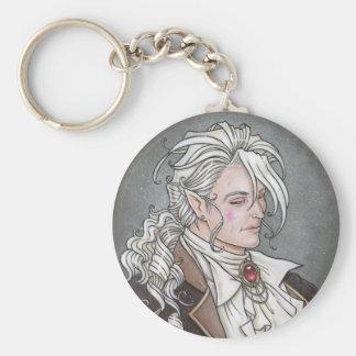 Le Portrait Du Vampire Gothic Keychain