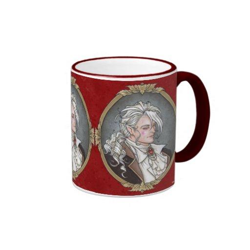 Le Portrait Du Vampire Gothic Mug