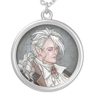 Le Portrait Du Vampire Round Necklace