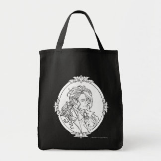 Le Portrait Du Vampire Sketch Gothic Bag
