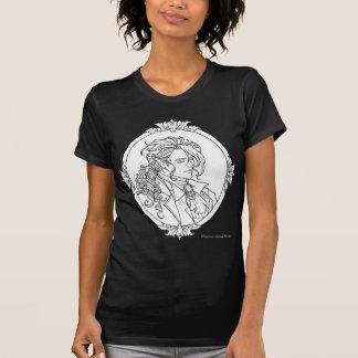 Le Portrait Du Vampire Sketch Gothic Shirt