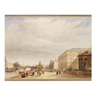 Le Quai d'Orsay, 1839 Postcard