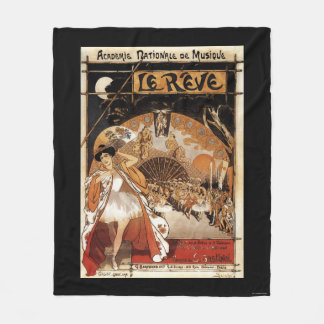 Le Reve Ballet Performance Opera House Fleece Blanket