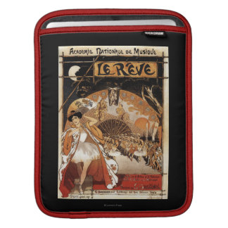 Le Reve Ballet Performance Opera House iPad Sleeve
