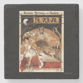 Le Reve Ballet Performance Opera House Stone Coaster