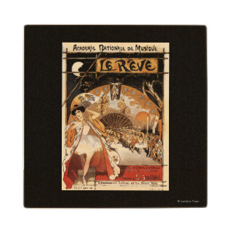 Le Reve Ballet Performance Opera House Wood Coaster