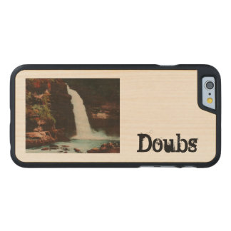 Le Saut du Doubs, Franche Comte France Carved® Maple iPhone 6 Slim Case