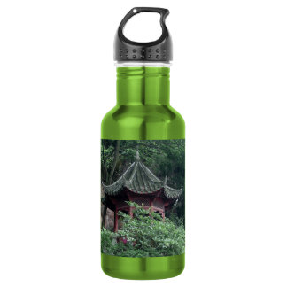 Le Shan Mountainside Buddhist Pavilion 532 Ml Water Bottle