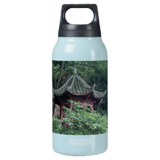 Le Shan Mountainside Buddhist Pavilion 10 Oz Insulated SIGG Thermos Water Bottle