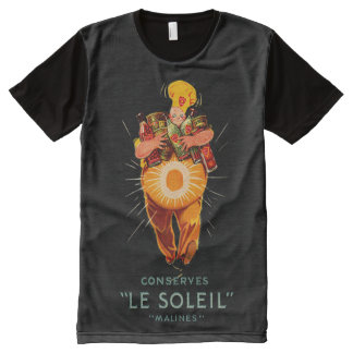 Le Soleil Conserves All-Over Print T-Shirt