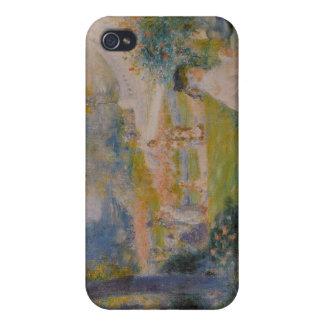 Le Square de la Trinité - Pierre Auguste Renoir iPhone 4 Cases