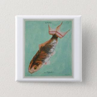 Le Superbe, engraved by Francois Nicholas Martinet 15 Cm Square Badge