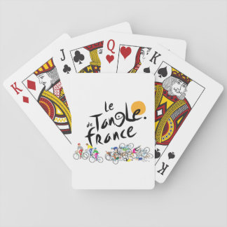 Le Tangle de France (Le Tour de France) Playing Cards