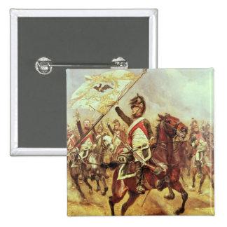 'Le Trophee', 1806, 4th Dragoon Regiment, 1898 15 Cm Square Badge