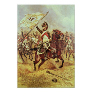 'Le Trophee', 1806, 4th Dragoon Regiment, 1898 Poster