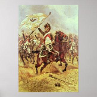 'Le Trophee', 1806, 4th Dragoon Regiment, 1898 Poster