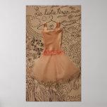 Le Tutu Rose (the pink tutu) Posters