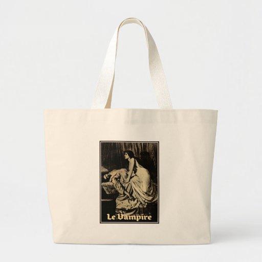 Le Vampire by Burne-Jones 1897 Canvas Bag