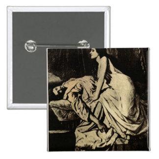 Le Vampire by Burne-Jones 1897 Buttons