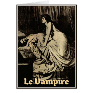 Le Vampire by Burne-Jones 1897 Cards